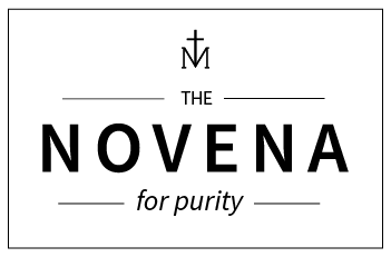 Novena for Purity Graphic