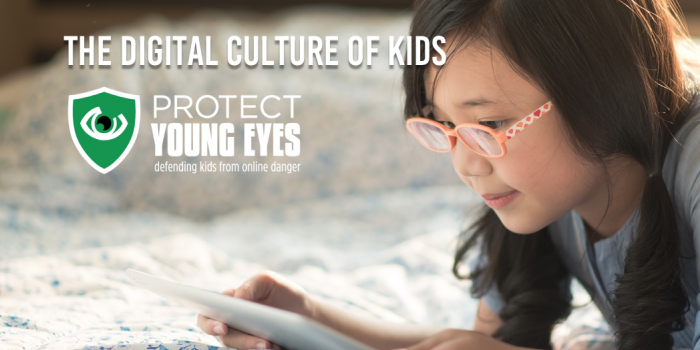 Protect Young Eyes Digital Culture of Kids